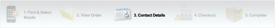 5 Steps: Contact Details